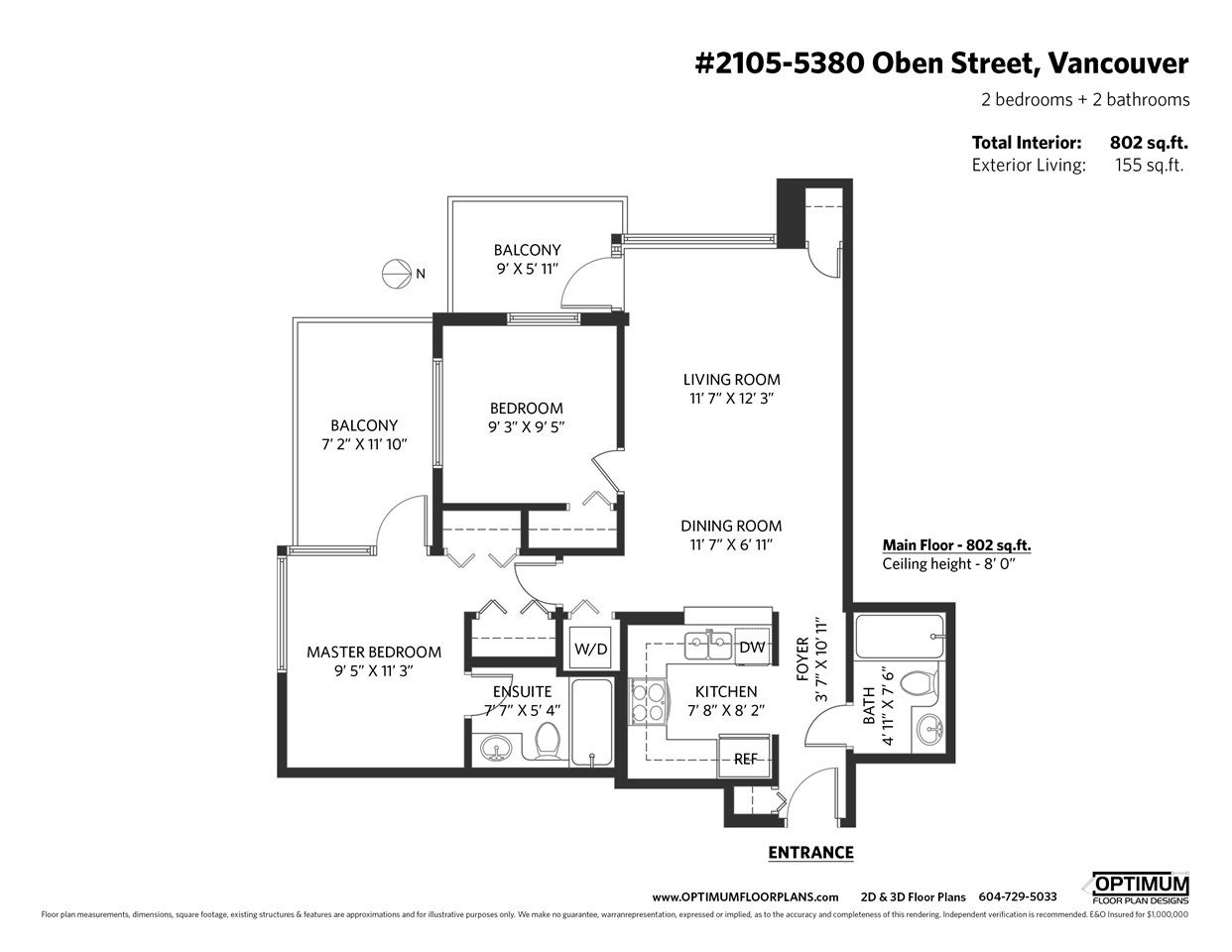 2105 5380 OBEN STREET - Collingwood VE Apartment/Condo for sale, 2 Bedrooms (R2512220) - #21