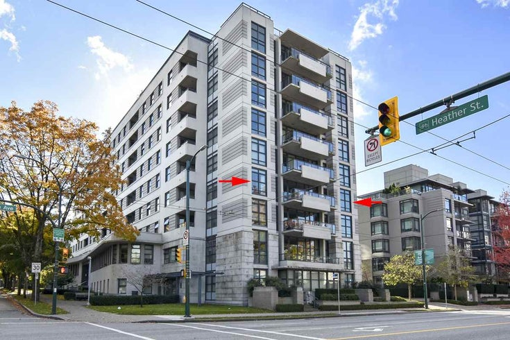 404 2851 HEATHER STREET - Fairview VW Apartment/Condo for sale, 3 Bedrooms (R2512313)