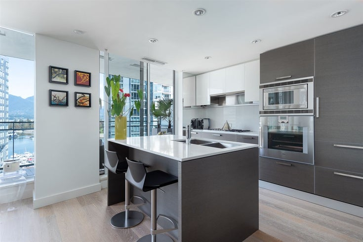 1301 1499 W PENDER STREET - Coal Harbour Apartment/Condo for sale, 2 Bedrooms (R2512398)