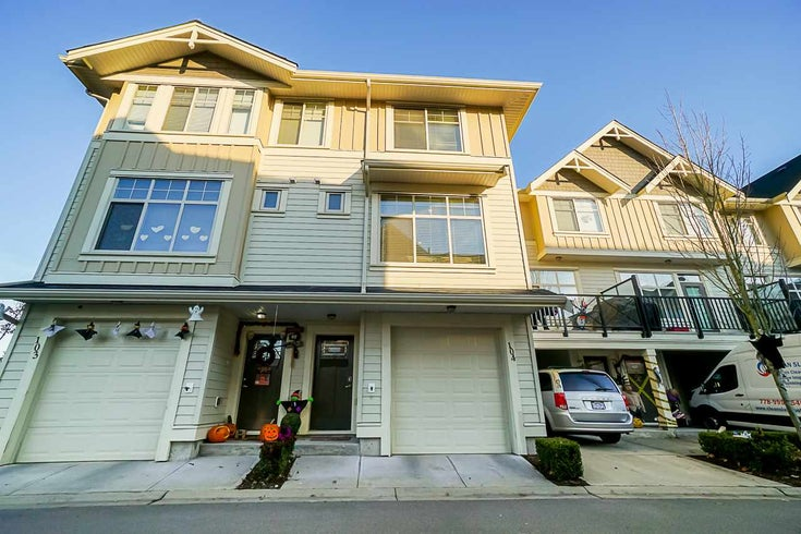 104 19525 73 AVENUE - Clayton Townhouse for sale, 3 Bedrooms (R2512441)