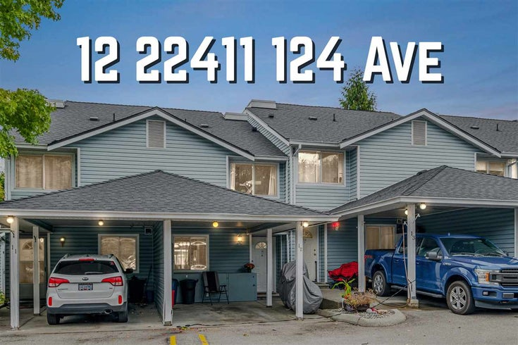 12 22411 124 AVENUE - East Central Townhouse for sale, 3 Bedrooms (R2512469)