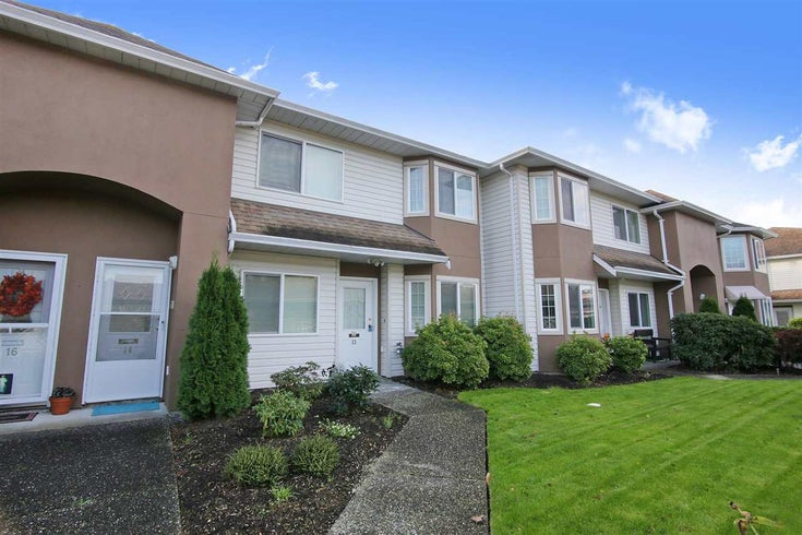 13 46350 CESSNA DRIVE - Chilliwack E Young-Yale Townhouse for sale, 2 Bedrooms (R2512566)