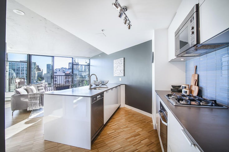 1407 128 W CORDOVA STREET - Downtown VW Apartment/Condo for sale, 1 Bedroom (R2512602)