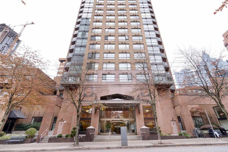 1502 1189 HOWE STREET - Downtown VW Apartment/Condo for sale, 2 Bedrooms (R2512686)