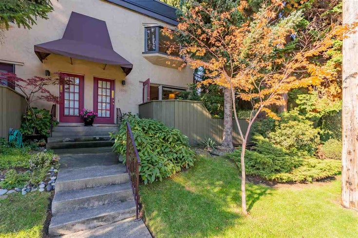 1605 MAPLE STREET - Kitsilano Townhouse for sale, 2 Bedrooms (R2512714)