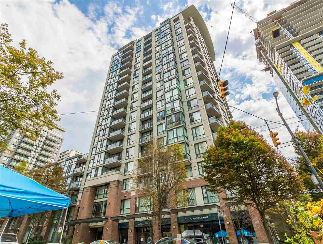 1902 1082 SEYMOUR STREET - Downtown VW Apartment/Condo for sale, 1 Bedroom (R2512736) - #1
