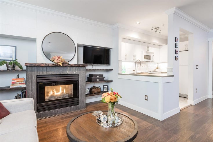105 685 W 7TH AVENUE - Fairview VW Townhouse for sale, 1 Bedroom (R2512862)