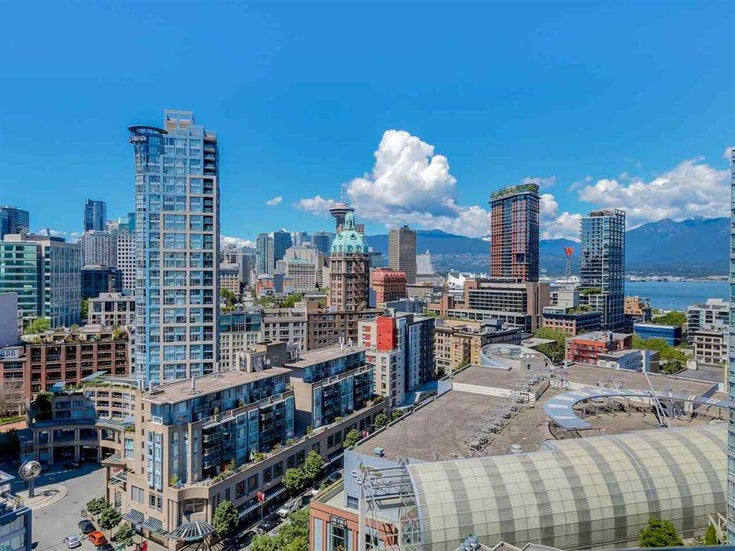 2706 58 KEEFER PLACE - Downtown VW Apartment/Condo for sale, 1 Bedroom (R2513031)