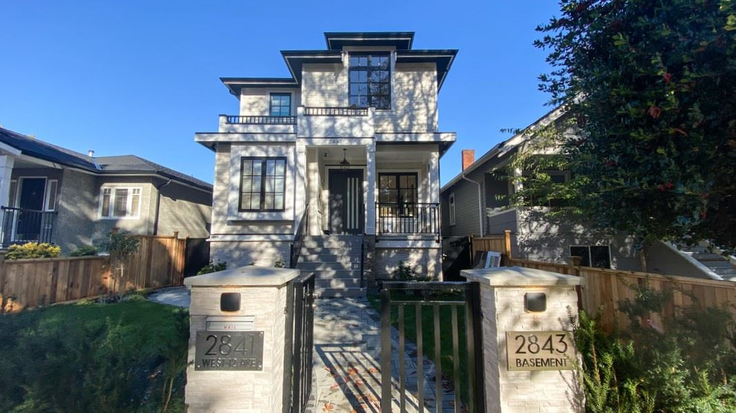 2841 W 12TH AVENUE - Kitsilano House/Single Family for sale, 4 Bedrooms (R2513152) - #1