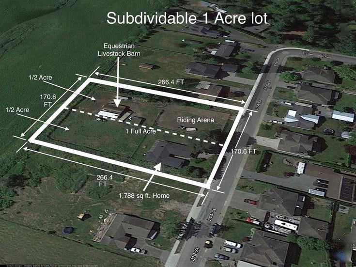 5115 214 STREET - Murrayville House with Acreage for sale, 3 Bedrooms (R2513198)