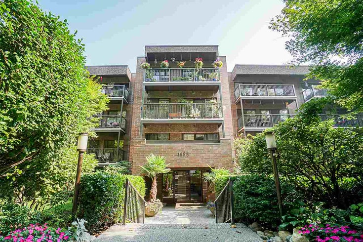 410 1655 NELSON STREET - West End VW Apartment/Condo for sale, 1 Bedroom (R2513219)
