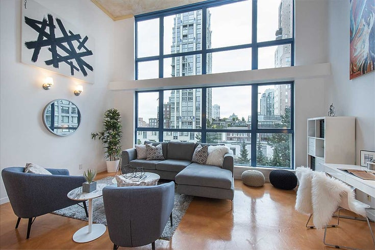 316 1238 SEYMOUR STREET - Downtown VW Apartment/Condo for sale, 2 Bedrooms (R2513596)