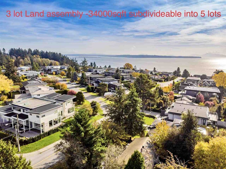 1565 ARCHIBALD ROAD - White Rock House/Single Family for sale, 2 Bedrooms (R2513615)
