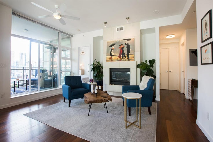 1401 1205 HOWE STREET - Downtown VW Apartment/Condo for sale, 2 Bedrooms (R2514021)
