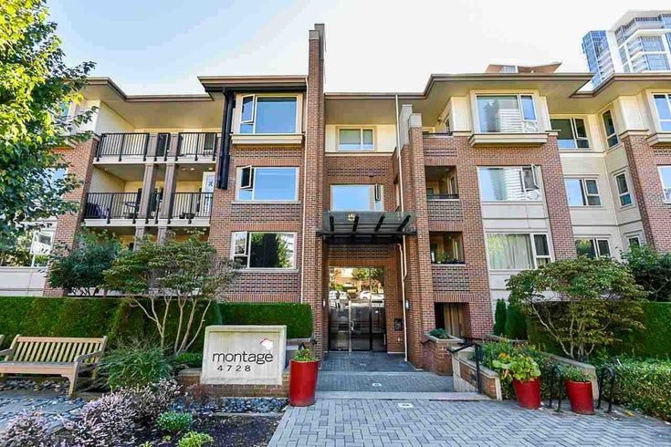 309 4728 DAWSON STREET - Brentwood Park Apartment/Condo for sale, 2 Bedrooms (R2514354)
