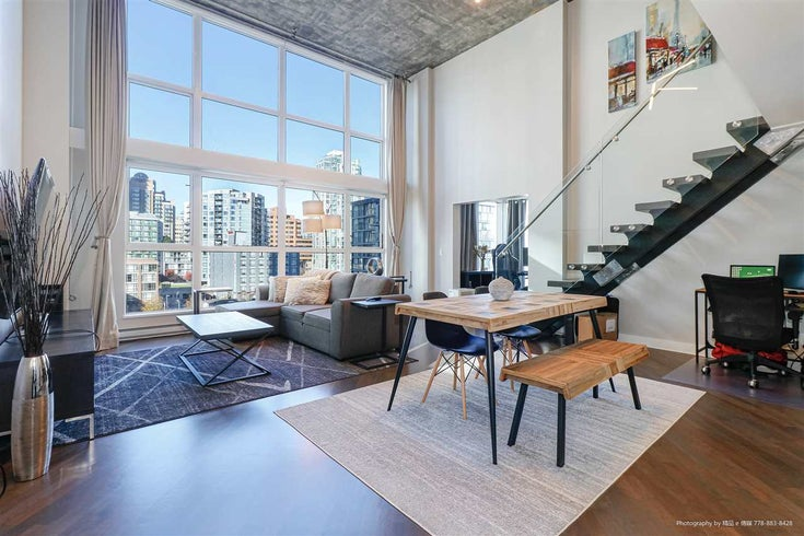 605 1238 SEYMOUR STREET - Downtown VW Apartment/Condo for sale, 1 Bedroom (R2514479)
