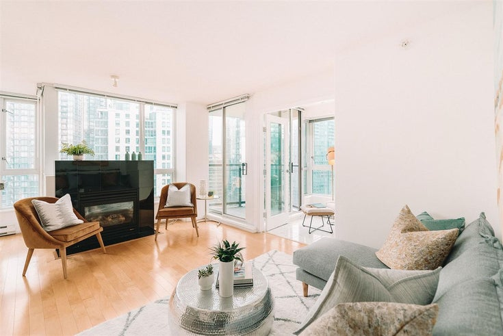 3101 1328 W PENDER STREET - Coal Harbour Apartment/Condo for sale, 2 Bedrooms (R2514604)