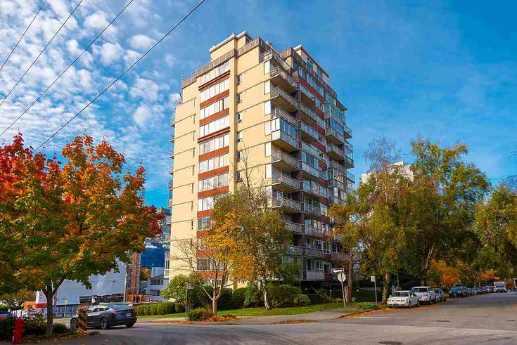 502 1100 HARWOOD STREET - West End VW Apartment/Condo for sale, 1 Bedroom (R2514854)
