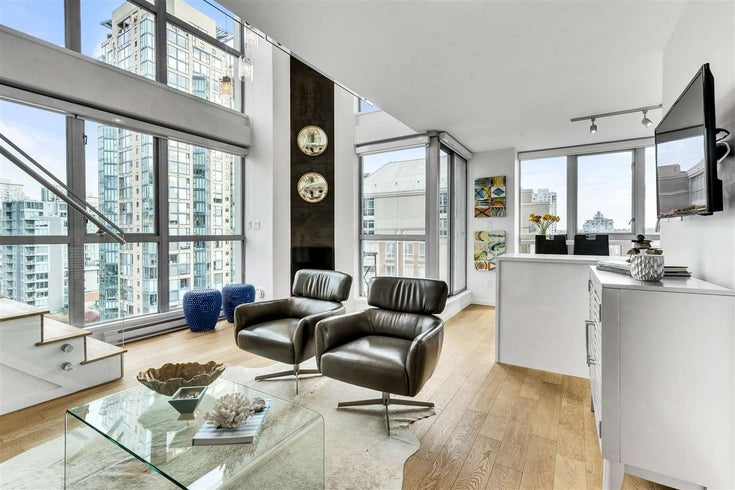1207 1238 RICHARDS STREET - Yaletown Apartment/Condo for sale, 2 Bedrooms (R2515222)