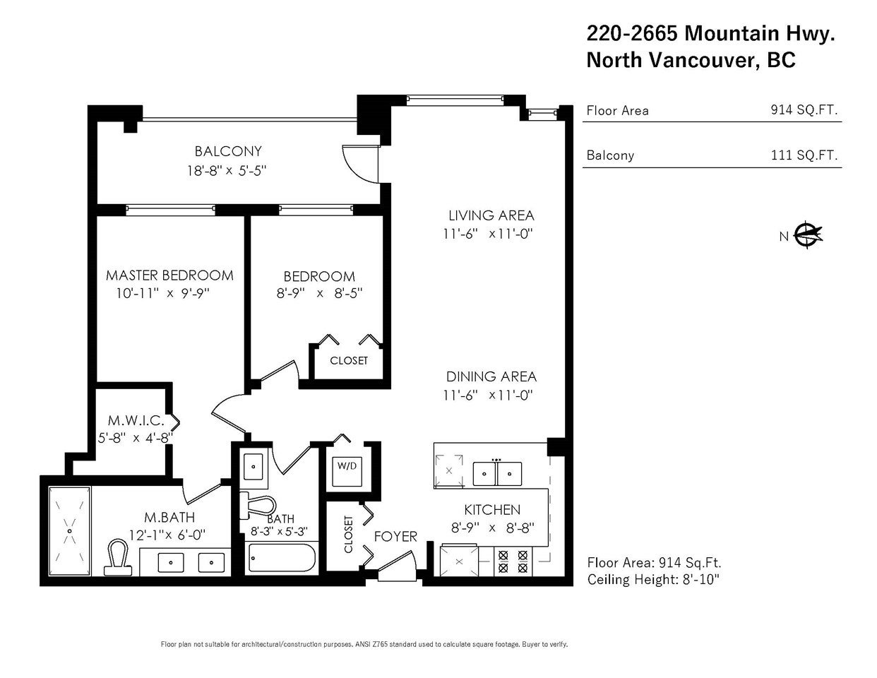 220 2665 MOUNTAIN HIGHWAY - Lynn Valley Apartment/Condo for sale, 2 Bedrooms (R2515325) - #26