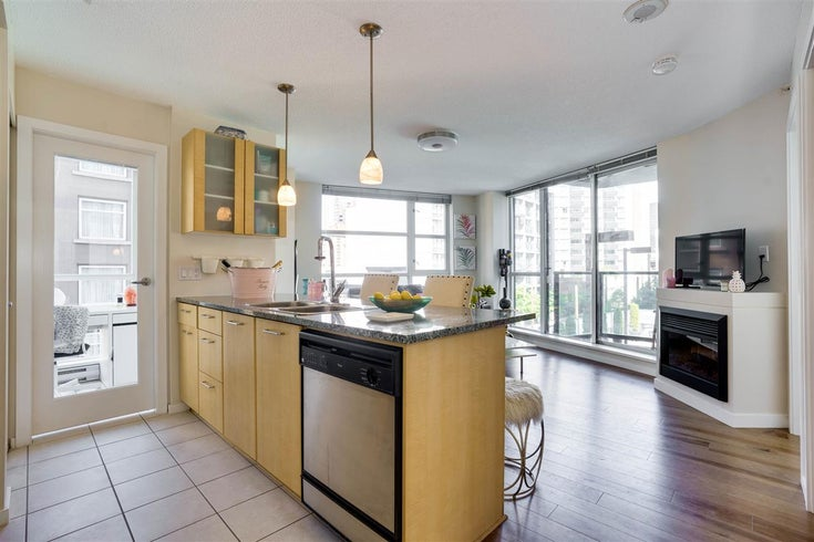 502 1199 SEYMOUR STREET - Downtown VW Apartment/Condo for sale, 1 Bedroom (R2515349)