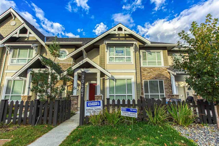 20467 86 AVENUE - Willoughby Heights Row House (Non-Strata) for sale, 4 Bedrooms (R2515436)