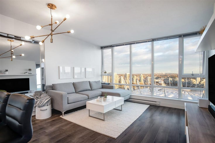 3505 233 ROBSON STREET - Downtown VW Apartment/Condo for sale, 1 Bedroom (R2515544)