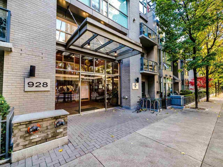 2105 928 RICHARDS STREET - Yaletown Apartment/Condo for sale, 2 Bedrooms (R2515574)