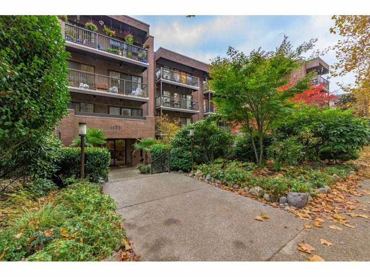 102 1655 NELSON STREET - West End VW Apartment/Condo for sale, 1 Bedroom (R2515753)