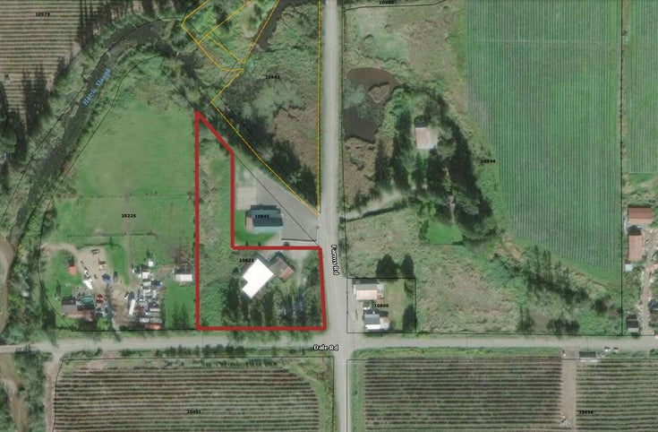 10821 FARMS ROAD - Durieu House with Acreage for sale(R2515893)