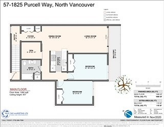 57 1825 PURCELL WAY - Lynnmour Townhouse for sale, 2 Bedrooms (R2515943) - #24