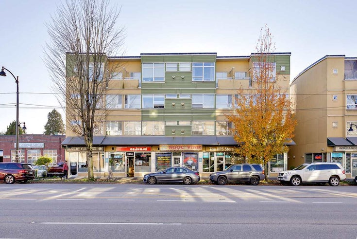312 2238 KINGSWAY - Victoria VE Apartment/Condo for sale, 2 Bedrooms (R2515965)