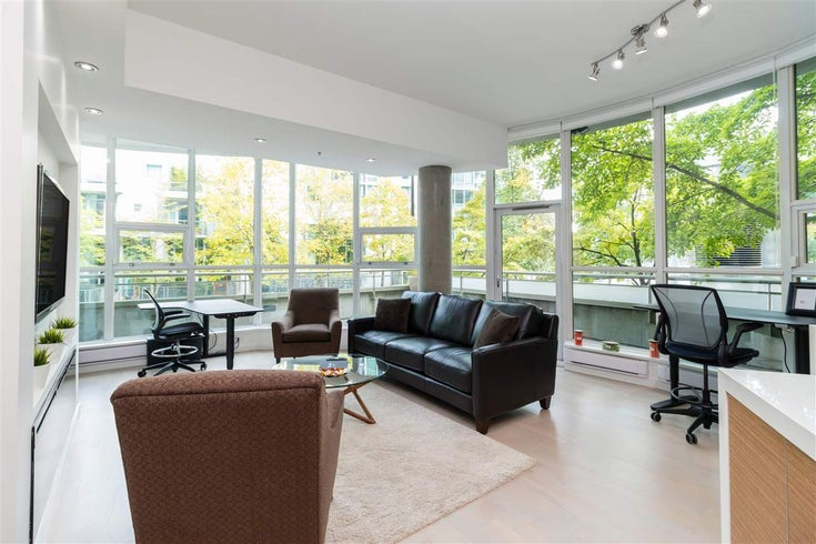 1418 W HASTINGS STREET - Coal Harbour Townhouse for sale, 2 Bedrooms (R2516052)