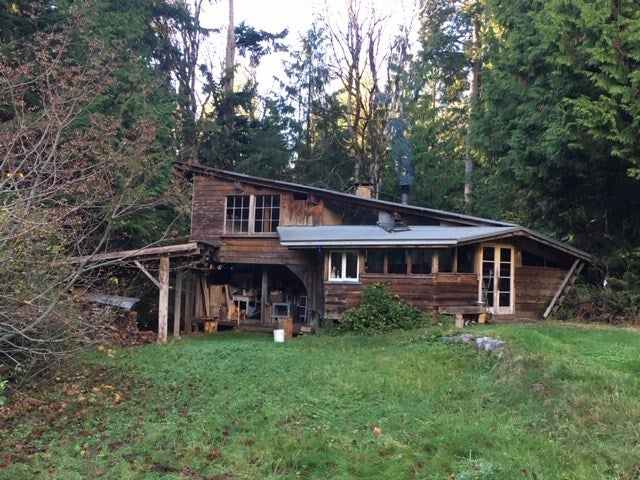 1199 / 1205 NEILSON ROAD - Roberts Creek House with Acreage for sale, 1 Bedroom (R2516150)