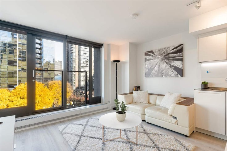 1001 1133 HORNBY STREET - Downtown VW Apartment/Condo for sale, 1 Bedroom (R2516572)