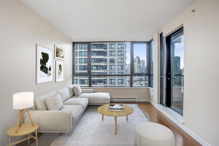 1306 909 MAINLAND STREET - Yaletown Apartment/Condo for sale, 1 Bedroom (R2516846)