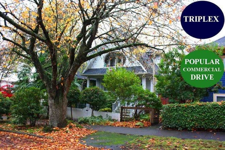 1767 PARKER STREET - Grandview Woodland House/Single Family for sale, 5 Bedrooms (R2516923)