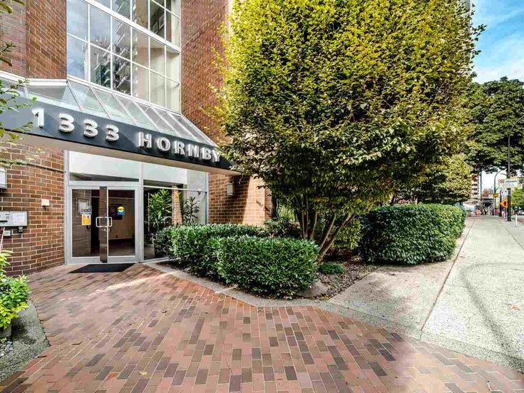 901 1333 HORNBY STREET - Downtown VW Apartment/Condo for sale, 1 Bedroom (R2517264)