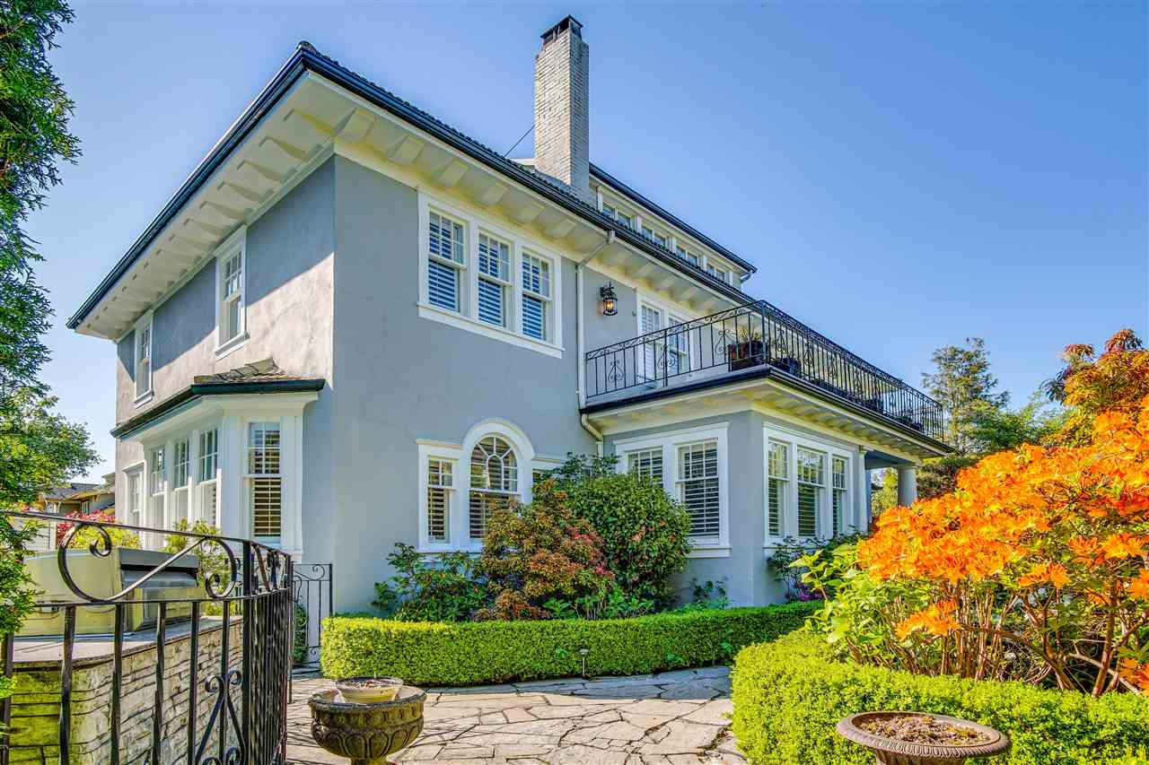 1611 CEDAR CRESCENT - Shaughnessy House/Single Family for sale, 6 Bedrooms (R2517533)