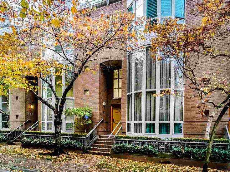 T08 1501 HOWE STREET - Yaletown Townhouse for sale, 3 Bedrooms (R2517539)
