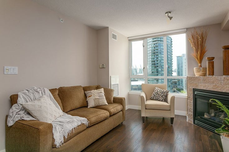 2101 63 KEEFER PLACE - Downtown VW Apartment/Condo for sale, 1 Bedroom (R2517609)