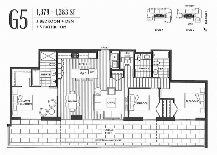 401 5077 CAMBIE STREET - Cambie Apartment/Condo for sale, 3 Bedrooms (R2517648)