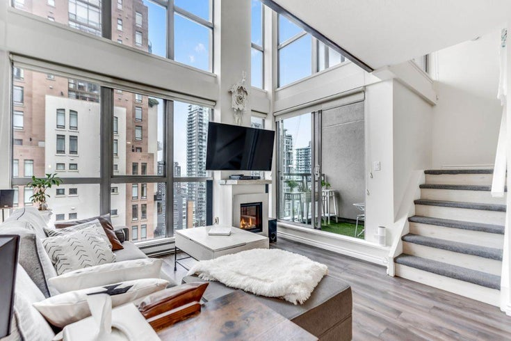 1602 1238 RICHARDS STREET - Yaletown Apartment/Condo for sale, 1 Bedroom (R2517666)