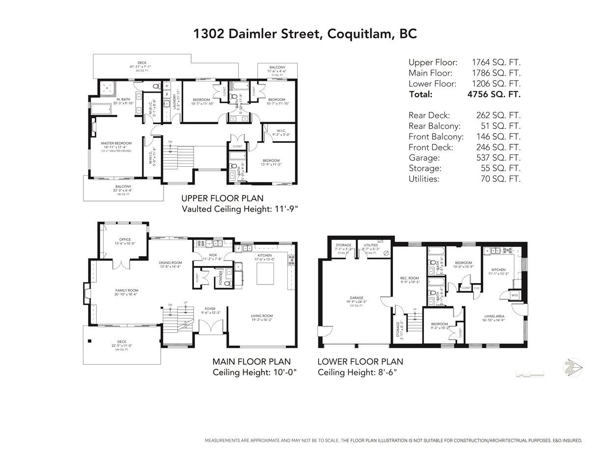 1302 DAIMLER STREET - Canyon Springs House/Single Family for sale, 6 Bedrooms (R2517704) - #29