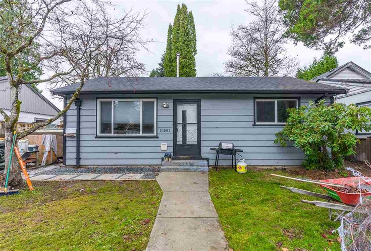 21563 121 AVENUE - West Central House/Single Family for sale, 2 Bedrooms (R2517842)