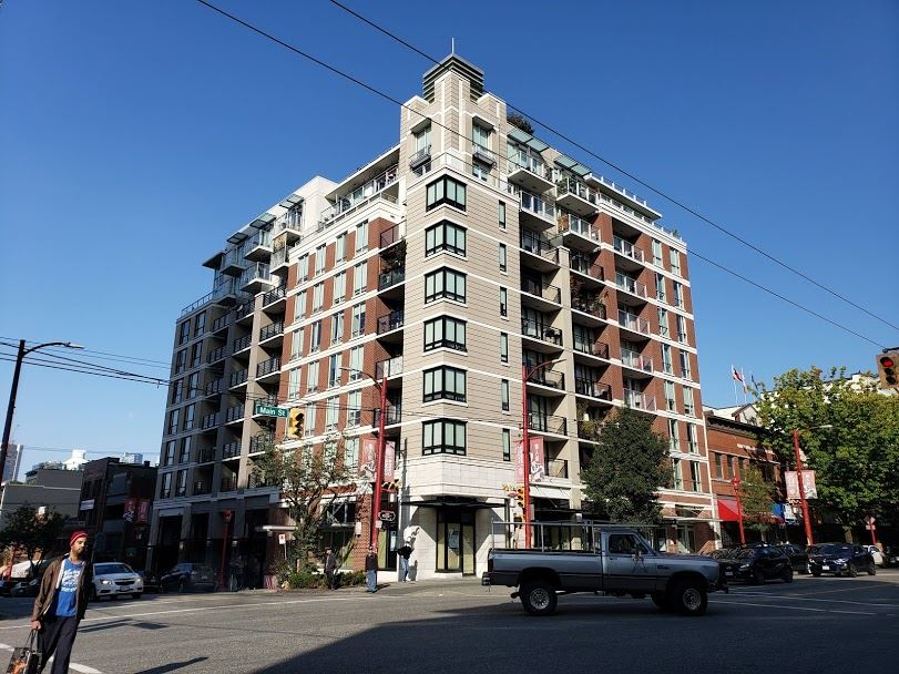 201 189 KEEFER STREET - Downtown VE Apartment/Condo for sale, 1 Bedroom (R2517851)