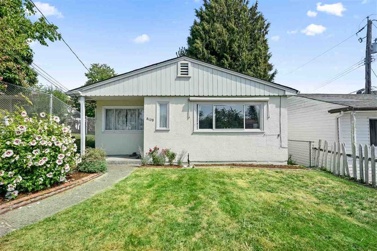 8138 BUSCOMBE STREET - South Vancouver House/Single Family for sale, 2 Bedrooms (R2517885)