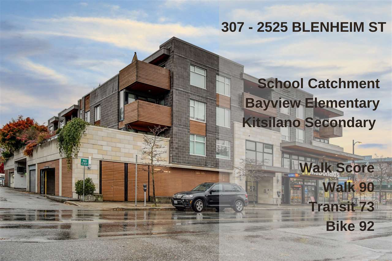 307 2525 BLENHEIM STREET - Kitsilano Apartment/Condo for sale, 1 Bedroom (R2517889) - #21