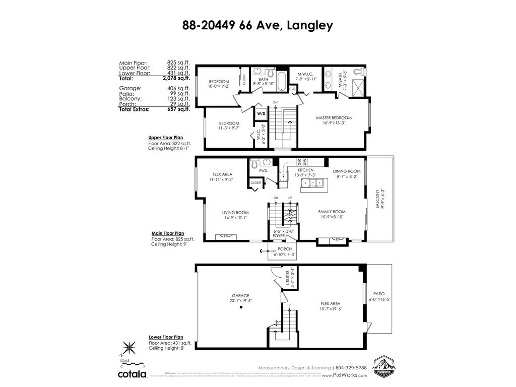 88 20449 66 AVENUE - Willoughby Heights Townhouse for sale, 3 Bedrooms (R2517975) - #40