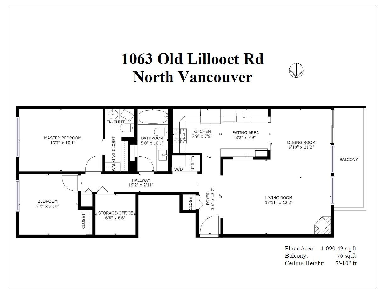 1063 OLD LILLOOET ROAD - Lynnmour Apartment/Condo for sale, 2 Bedrooms (R2518020) - #37
